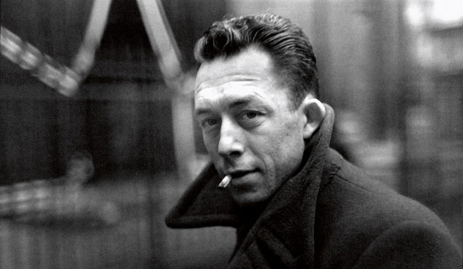 Albert-Camus photo Henri-cartier-bresson