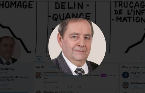 Gilles-Godefroy aime parler de couilles