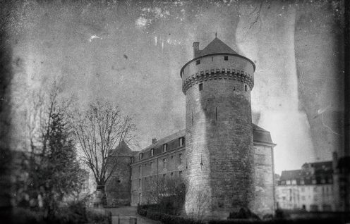 Chateau de Tours - Photo Guy Schladeck (collection particulière)