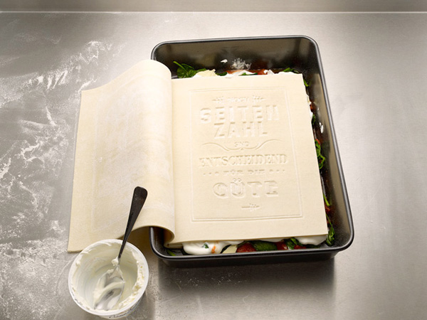 The edible cookbook Photo Koref