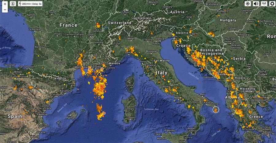 lightning-map