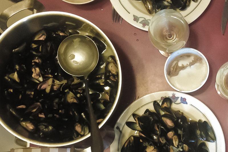 moules-tourangelles une recette exclusive d'Oazar
