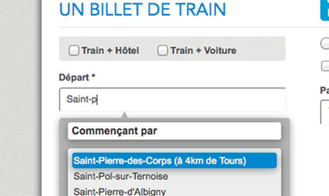 SNCF St Pierre des corps