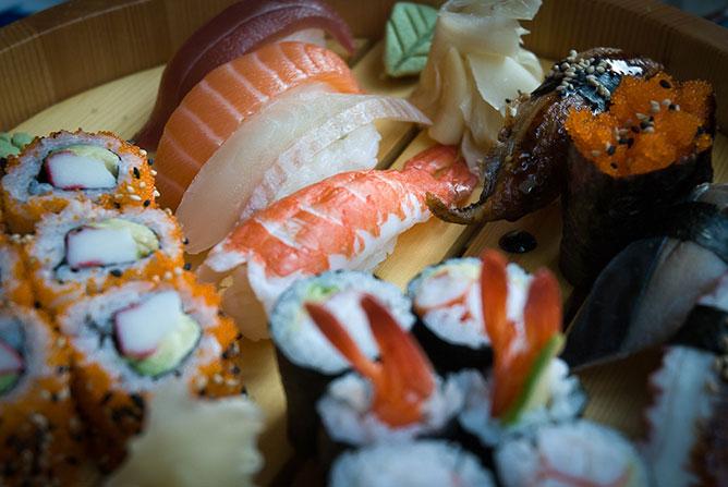 sushi photo Didier Laget