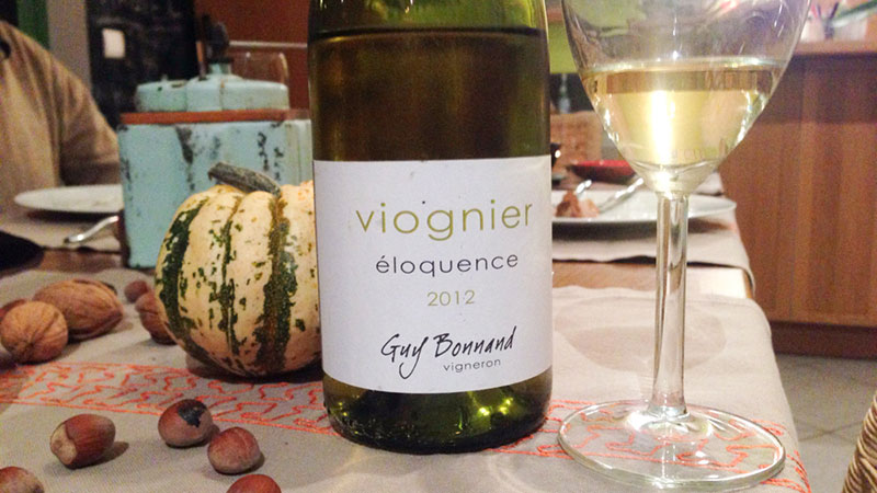 Viognier - éloquence - 2012 - Guy Bonnand